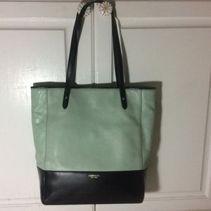 b1e1f95dc8 Lauren Ralph Lauren Harrow Leather N S tote